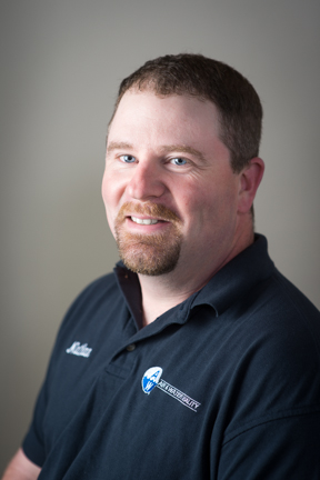 Nate Chaffee, Service Manager graphic
